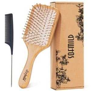 Sofmild Wooden Paddle Hair Brush
