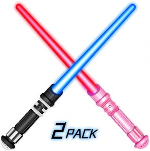 gender reveal light sabers