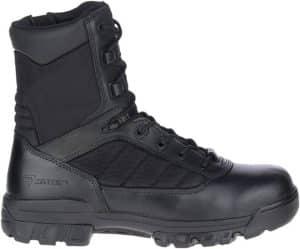 "Bates Women's 8"" Tactical Sport Side Zip Boots"
