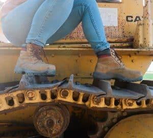 "Caterpillar Women's DryVerse 6"" Waterproof Steel Toe Work Boot"