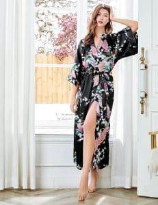 BABEYOND Long Kimono Robe