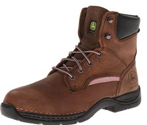 John Deere Steel Toe Lace Up Boot