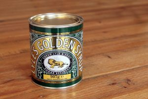 Can of golden syrup