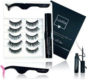 Luxillia by Amazon 8D Magnetic Eyelashes With Eyeliner Kit
