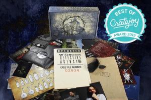 Deadbolt Mystery Society subscription box