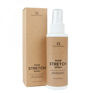 Footfitter shoe stretching spray