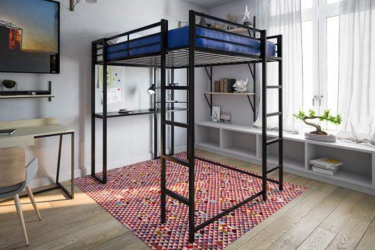 DHP Abode Full-Size Loft Bed