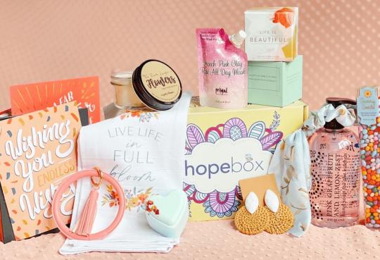 HopeBox on display