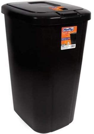Hefty Touch Lid Trash Can