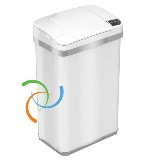 iTouchless Multifunction Sensor 4 Gallon Trash Can