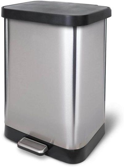 GLAD kitchen step trash can