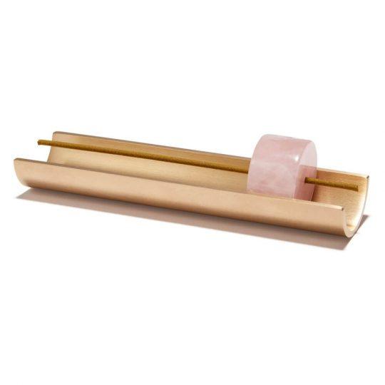 Rose Quartz Incense Burner