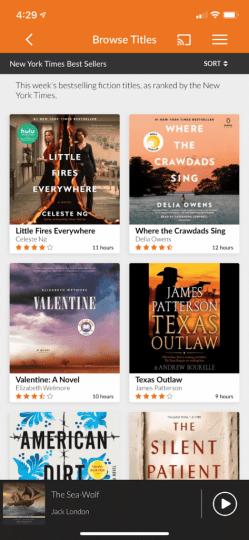 Audiobooks.com Library