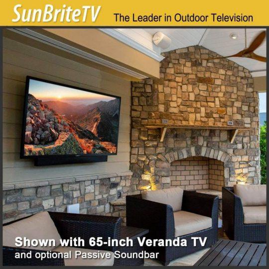 SunBriteTV Weatherproof Outdoor 55-Inch Veranda Series