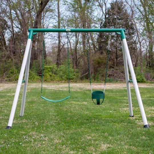 Backyard Discovery Mini Brutus Metal Swing Set