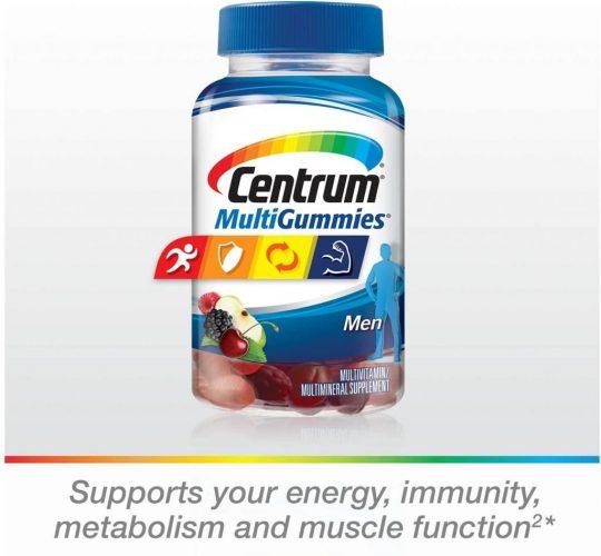 Centrum Men Multigummies Multivitamin