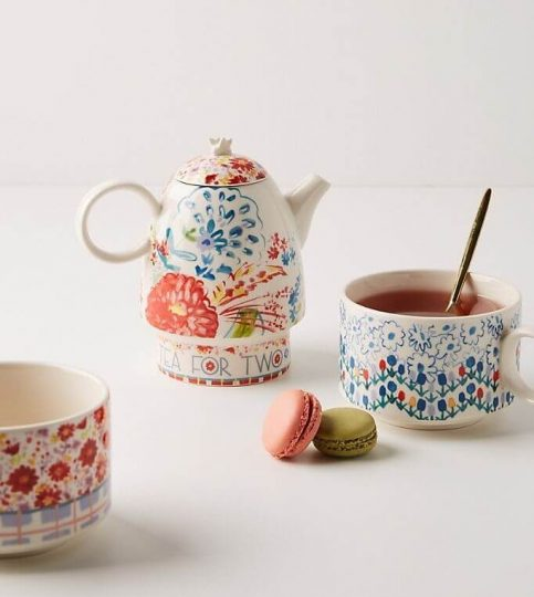 Mason Tea for Two Set