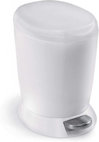 Simplehuman 6 Liter Plastic Round Step Can