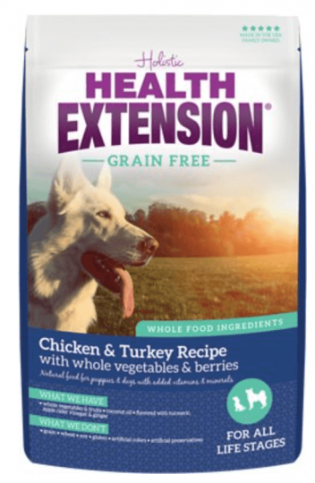 Health extension grain-free chicken and turkey