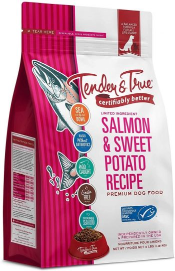 Tender and True Salmon and Sweet Potato