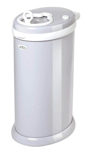 Ubbi Steel Odor-Locking Trash Can