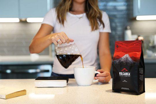 Volcanica Tanzanian Peaberry Coffee