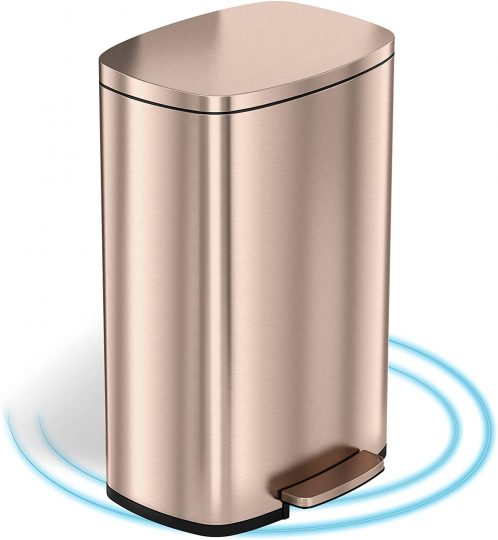 iTouchless Soft Step Trash Can