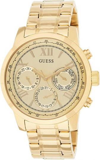 GUESS Classic Goldtone Stainless Watch