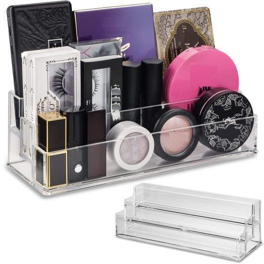 byAlegory Tiered Acrylic Makeup Organizer