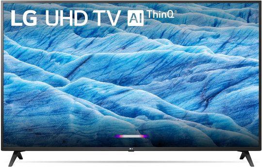 """LG 55UM7300PUA Alexa Built-in 55"""" 4K Ultra HD Smart LED TV"""