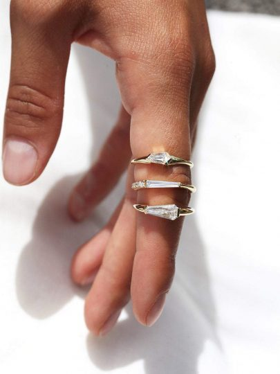 Capucinne diamond ring