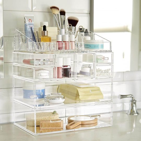 Container Store Large Acrylic Drawers