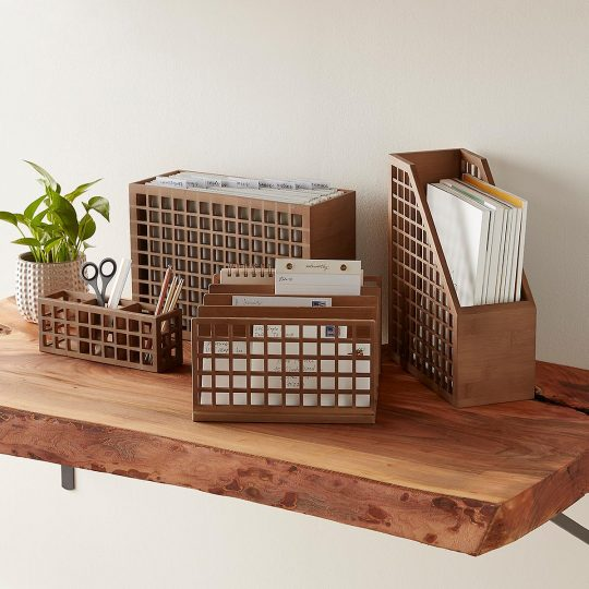 Desk organizer sets
