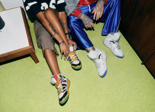 Gucci Basket Shoes