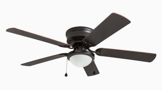 Harbor Breeze Armitage Flush Mount Ceiling Fan with Light Kit