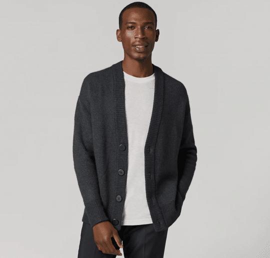Men's Wool Cardi