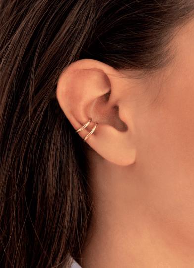 simple ear cuffs