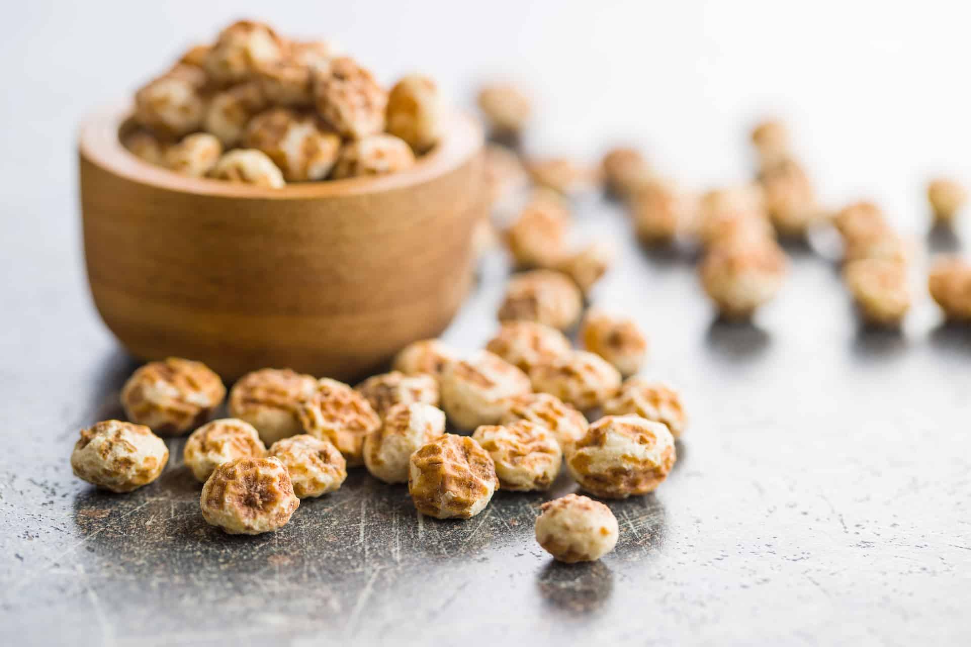 bowl of tiger nuts