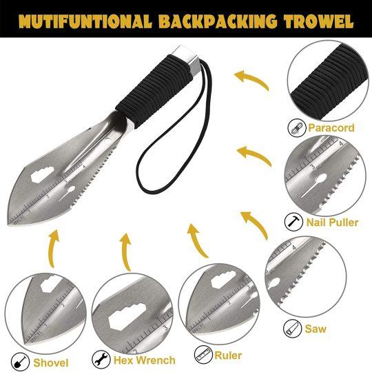 Yeacool Backpacking Trowel