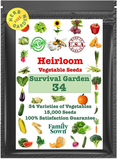 Family Sown Survival Seeds