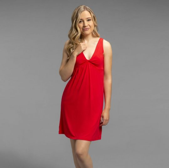 Red Bamboo nightgown