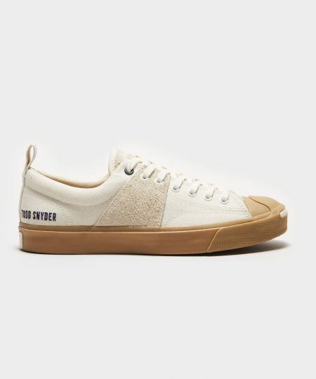 TODD SNYDER X JACK PURCELL SNEAKER IN EGRET