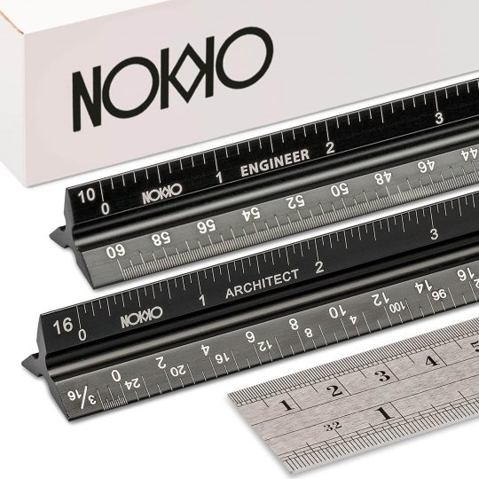 Architectural Engineering Scale Ruler