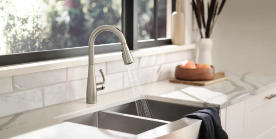 U by Moen Smart Pulldown Kitchen Faucet