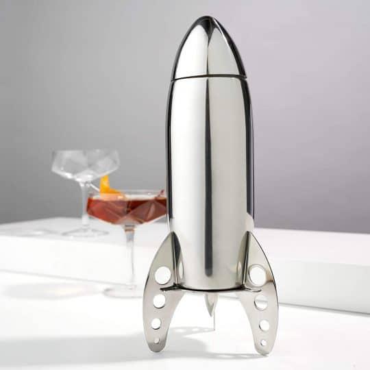 Rocket Shaped Cocktail Maker
