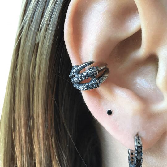 Dragon Claw ear cuff