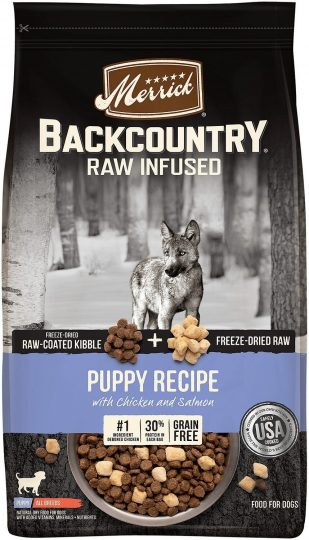 Backcountry Raw infused puppy recipe