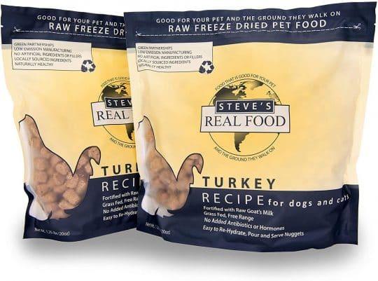 Steve's Real Food Turkey Canine Recipe