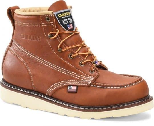Carolina Amp USA Steel Toe Boot