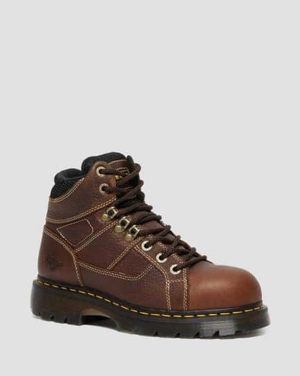 Dr. Martens Ironbridge Leather Steel Toe Work Boots